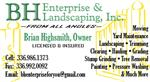 BH Enterprise and Landscaping, Inc.