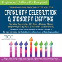 Englewood Menorah Lighting