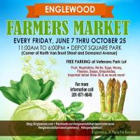 Farmers Market – every Friday at Depot Square Park