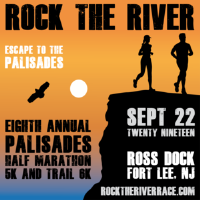 ROCK THE RIVER: Palisades Half Marathon, 5K and Trail 6K at Ross Dock