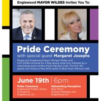 Pride Ceremony with Special GUest: Margaret Josephs