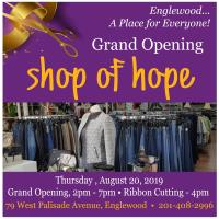Grand Opening! - Shop of Hope