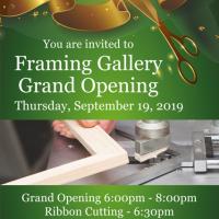 Grand Opening! Englewood Framing Gallery