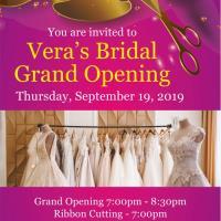 Grand Opening! Vera's Bridal