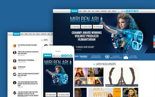 Miri Ben-Ari, Grammy Award Winning Violinist