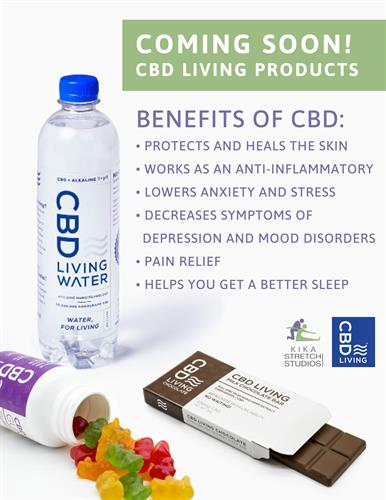We offer CBD products
