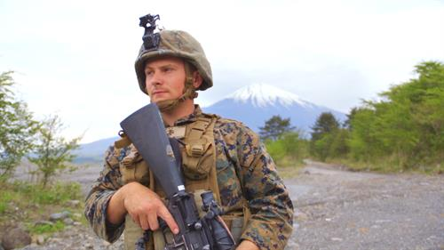 "History Channel ""Defending Japan,"" Mount Fuji 