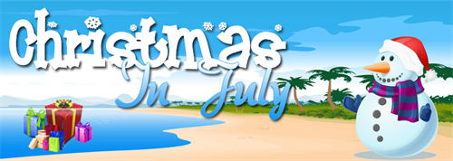 Celebrate Christmas in July at Buckley's! Christmas themed items and decor are on sale now!