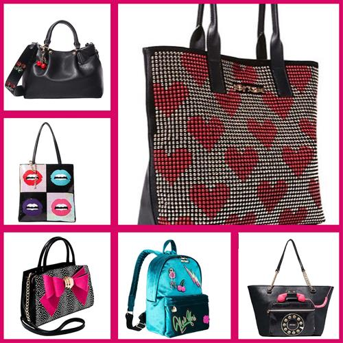 We carry Betsey Johnson Handbags!