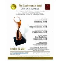 10-22-21 ATHENA Int'l Awards