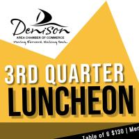 2021 Chamber 3rd Quarterly Luncheon Presented by Hey Sugar