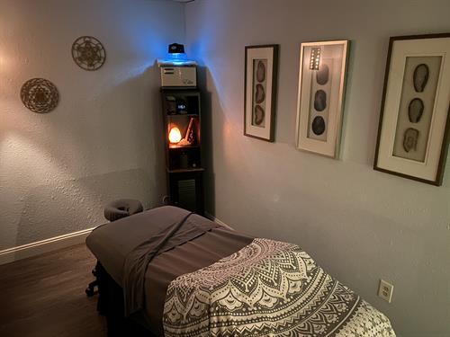 We have 3 massage rooms, this is one of them!