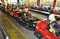 Go Carts for Singles AND doubles!