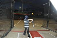 Batting Cages with speeds from Slow Pitch Softball to 80mph.