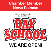 News Release: First United Methodist of Hurst DAY SCHOOL is OPEN!