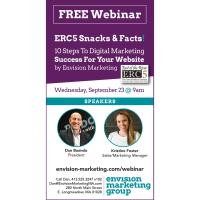 ERC5 Snacks & Facts 10 Steps To Digital Marketing Success For Your Website by Envision Marketing