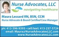 Member Maura Lessard of Nurse Advocates, LLC was recently published in the Turley Publication's Health and Wellness paper.  .