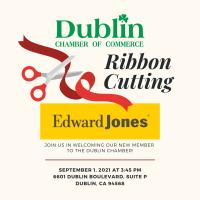 Ribbon Cutting for Edward Jones