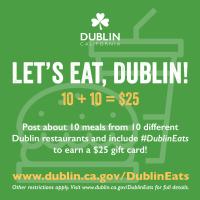Let's Eat, Dublin! Campaign