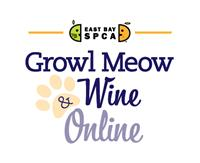 East Bay SPCA's Growl, Meow & Wine Online