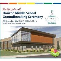 Horizon Middle School Groundbreaking Ceremony