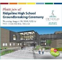 Ridgeline High School Groundbreaking Ceremony