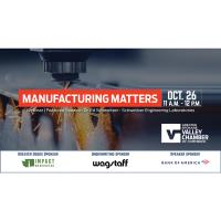 Manufacturing Matters Webinar