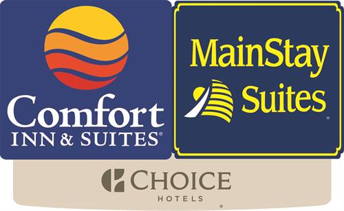 Welcome to Coeur d' Alene's newest hotel Comfort Inn & Suites/Mainstay. We offer 46 Mainstay Suites with full kitchens and living space and 92 premium hotel suites.