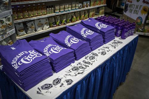 Merchant Craft tees we printed