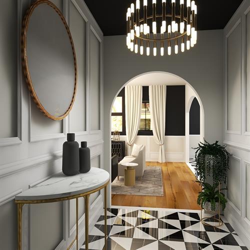 Rendering of Modern Luxury Home