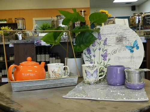 Tea anyone? We have 100+ teas, along with all accessories you need