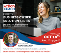 Business Owner Solution Series: The Elevator Pitch
