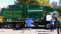 "RORRY (Recycle Often Recycle Right) cart wth a ""Y"" at ValleyFest"