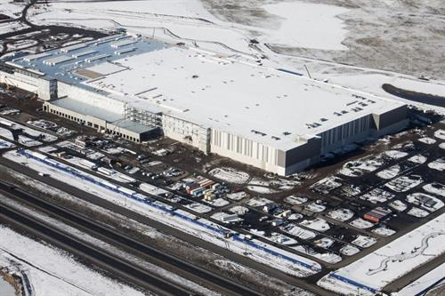 Amazon Warehouse West Plains Concrete