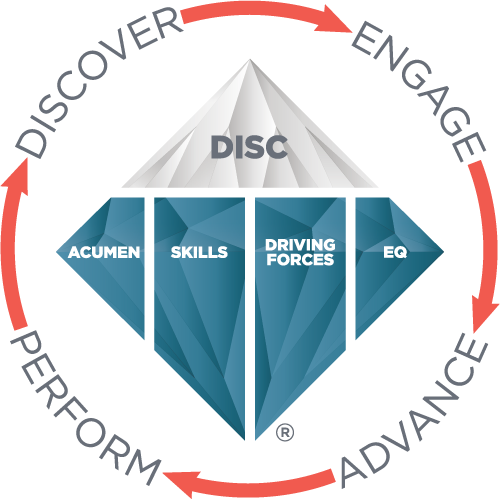 Go deeper than DISC.  EQ, Competencies, 12 Driving Forces.  www.TTISI.com