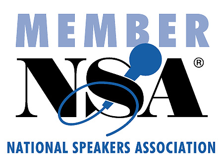 Professional Member of the National Speakers Association (NSA).  Member of NSA-DC Chapter.