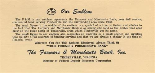 A little history on F&M's logo