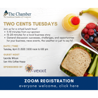 Zoom: Two Cents Tuesdays: San Vito Coffee House, Vexxit