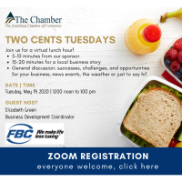Zoom: Two Cents Tuesdays: FBC