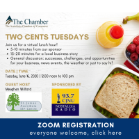 Zoom: Two Cents Tuesdays: St. James Assiniboia 55+ Centre