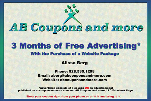 Coupon for AB Coupons and More, LLC