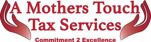 Logo I designed for A Mothers Touch Tax Services