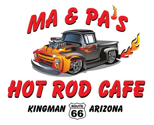 Redesign of Hot Rod Cafe's logo