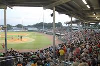Packed Stadium at McNair Field
