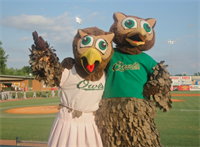 Hoot n' Annie the Mascots
