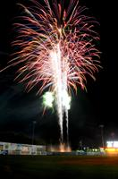 Fireworks at McNair Field