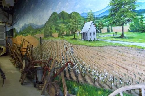 Clive Haynes murals