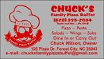Chuck's Family Pizza Buffet