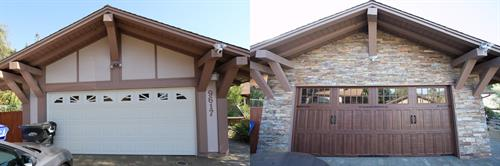 Exterior - Before and After