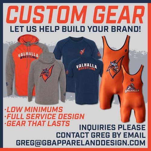We make custom Team Gear.